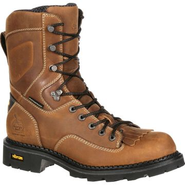 Georgia Boot Comfort Core: Composite Toe Waterproof Logger