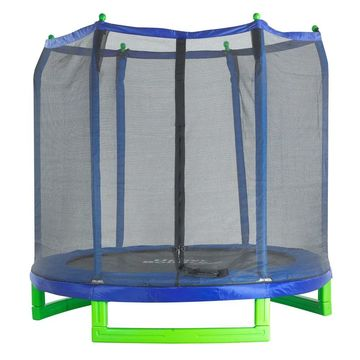 Upper Bounce 7' Indoor/Outdoor 'Classic' Trampoline & Enclosure Set