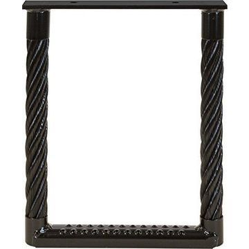 Buyers Products 5231512 15 x 12 in. Perforated Cable Step, Black Powdercoated