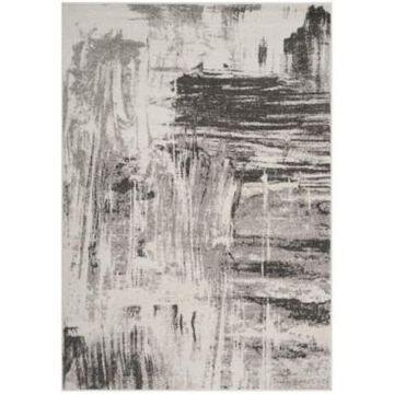 Safavieh Adirondack Ivory and Gray 6' x 6' Square Area Rug