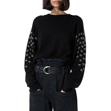The Kooples Rhinestone Star Sweater