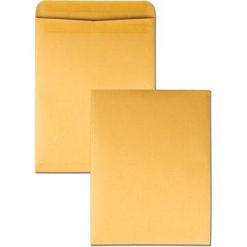 Quality Park Redi-Seal Kraft Catalog Envelopes, Kraft, 100 / Box (Quantity)