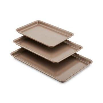 Anolon 3-Pc. Silver Cookie Pan Set