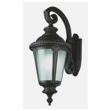 Trans Globe Estate - Four Light Outdoor Large Wall Bracket - Down