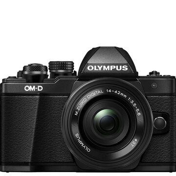 Olympus OM-D E-M10 Mark II Mirrorless Camera &14-42mm lens