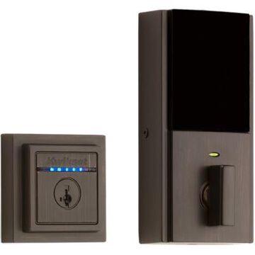 Kwikset Kevo Touch-to-Open Contemporary Smart Lock, 2nd Gen featuring SmartKey Security  in Venetian Bronze