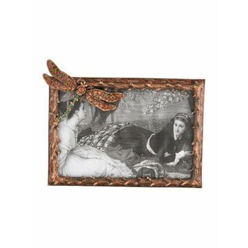 Dragonfly Picture Frame Copper