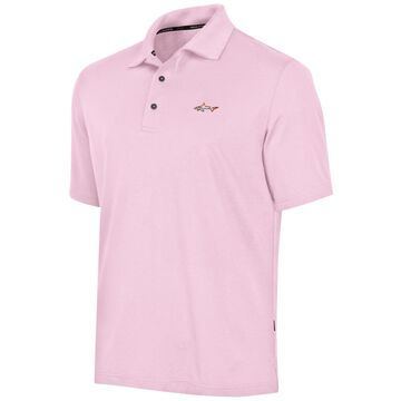 Greg Norman Mens Five Iron Performance Rugby Polo Shirt