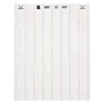 BRADY LAT-4-747-10 Write On Wire Marker, Polyester White
