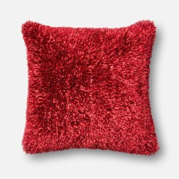 P017P0045RE00PIL3 22 x 22 in. Decorative Pillow Cover - Red