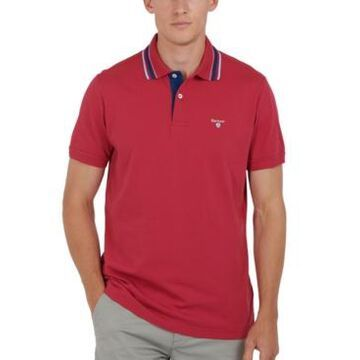 Barbour Men's Classic-Fit Tipped Polo Shirt