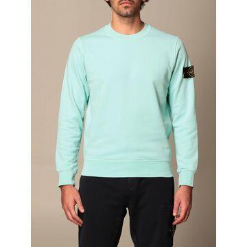 Stone Island Crewneck Sweatshirt In Cotton