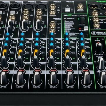 Mackie ProFX Series Mixer - Unpowered 10-channel ProFX10v3