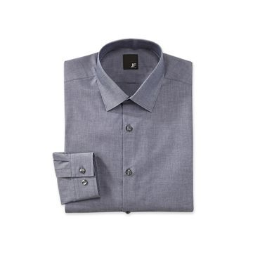 JF J. Ferrar Mechanical Stretch Dress Shirt - Big & Tall