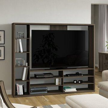 """Mainstays Entertainment Center for TVs up to 55"""", Multiple Finishes"""