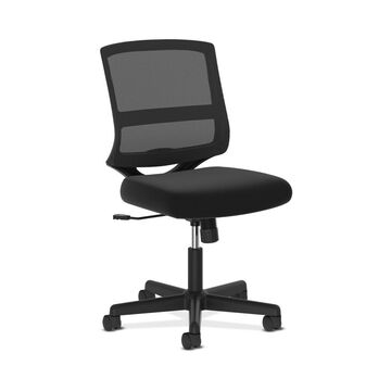 Valutask Mid-Back Mesh Task Chair Black - HON