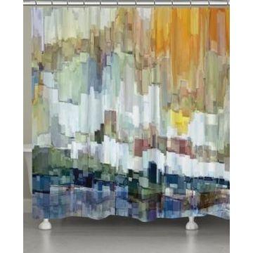 Laural Home Glacier Bay Shower Curtain Bedding