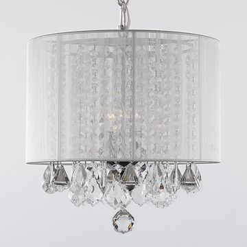 Gallery 3-Light Crystal Chandelier