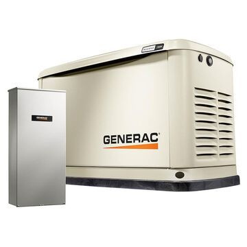Generac 70331 11kW 530cc Air-Cooled Automatic Wi-Fi Monitored Standby Generator