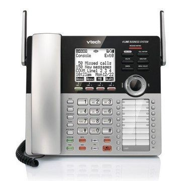 VTech CM18445 Main Console Telephone with Speakerphone Volume Control