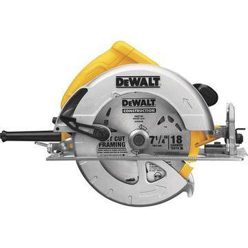DEWALT Compact Circular Saw - 7 1/4Inch, 15 Amp, Model DWE575