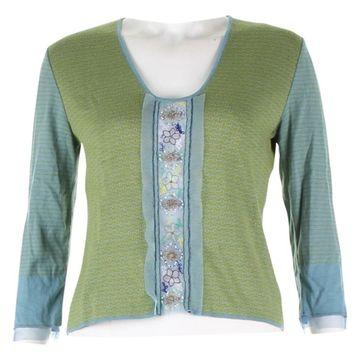 Etro Green Cotton Knitwear