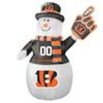 Boelter Brands Cincinnati Bengals 7-ft Lighted Snowman Christmas Inflatable