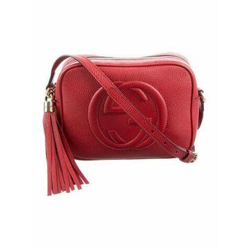 Small Soho Disco Crossbody Bag Red