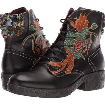 L'Artiste by Spring Step Kaleigh (Black) Women's Boots