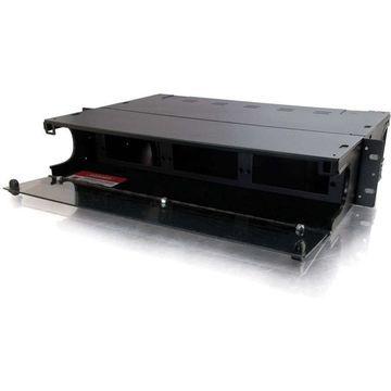 C2G Q-Series 2u 6-Panel Rackmount Fiber Optic Enclosure - 2U