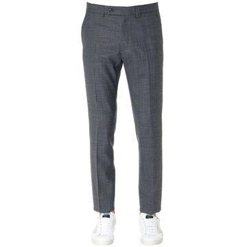 Mauro Grifoni Grey Wool Pants