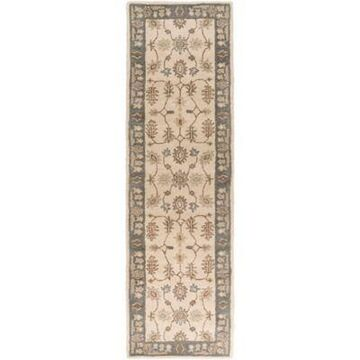 Artistic Weavers Middleton Willow 2-Foot 3-Inch x 14-Foot Runner in Grey/Ivory