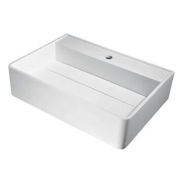 ANZZI Tilia Vessel Sink in Matte White