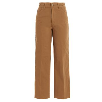 flare Cropped Pants Liu-Jo