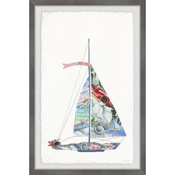 Parvez Taj Sailing Dream Framed Wall Art