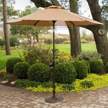 Hanover Monaco 9' Tiltable Umbrella
