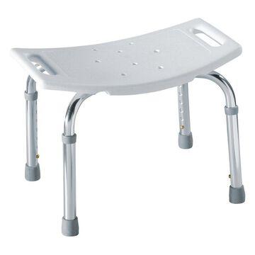 Moen Glacier Plastic Freestanding Shower seat
