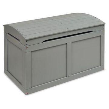Badger Basket Barrel Top Toy Box in Grey