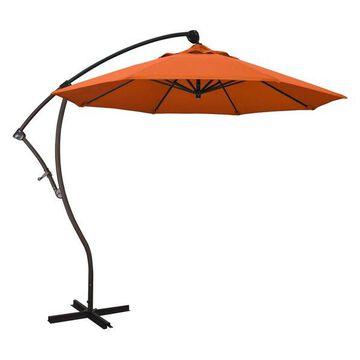 California Umbrella 9' Cantilever Umbrella in Tuscan