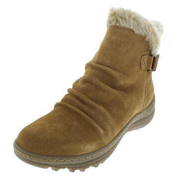 Baretraps Womens Avita Suede Cold Weather Winter Boots
