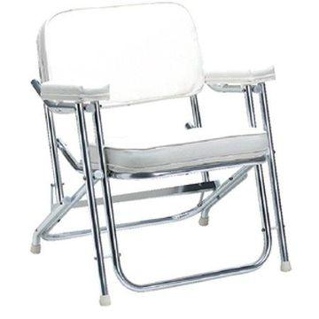 Seachoice Folding Deck Chair, White