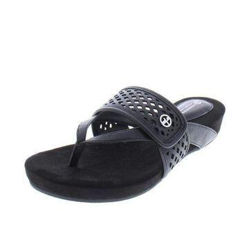 Giani Bernini Womens Releigh Thong Casual Flip-Flops