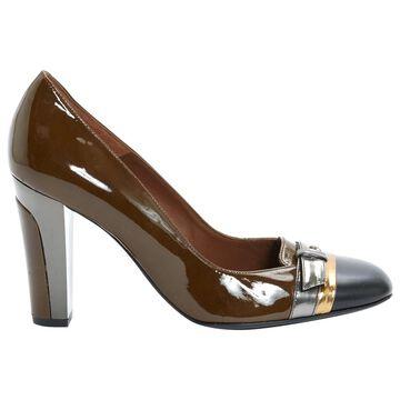 Barbara Bui Brown Patent leather Heels