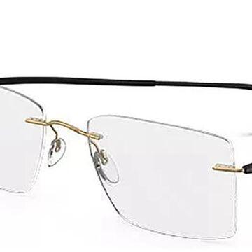 Silhouette ESSENCE 5523 7630 Men's Glasses Gold Size 52 - Free Lenses - HSA/FSA Insurance - Blue Light Block Available