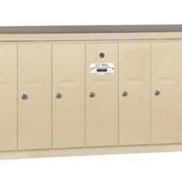 Salsbury Industries 3507SRP Recessed Mounted Vertical Mailbox with Master...