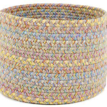 PT03B018X012 18 x 12 in. Playtime Sand Beige & Multicolor Basket