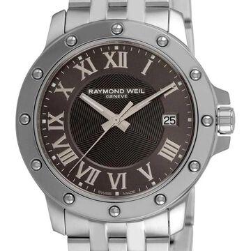 Raymond Weil Men's 5599-ST-00608 'Tango' Stainless Steel Grey Dial Watch