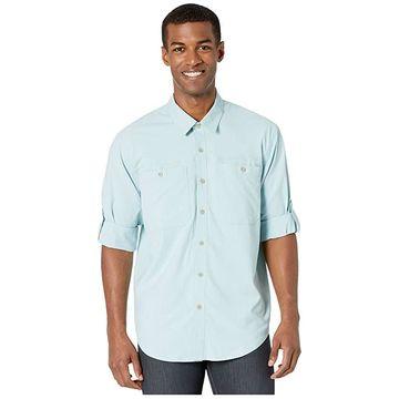 Filson Ultralight Shirt (Gulf Blue) Men's Clothing