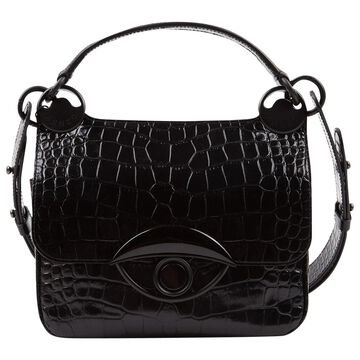 Kenzo Black Leather Handbags