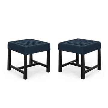 Set of 2 Hargett Modern Backless Dining Stools - Christopher Knight Home